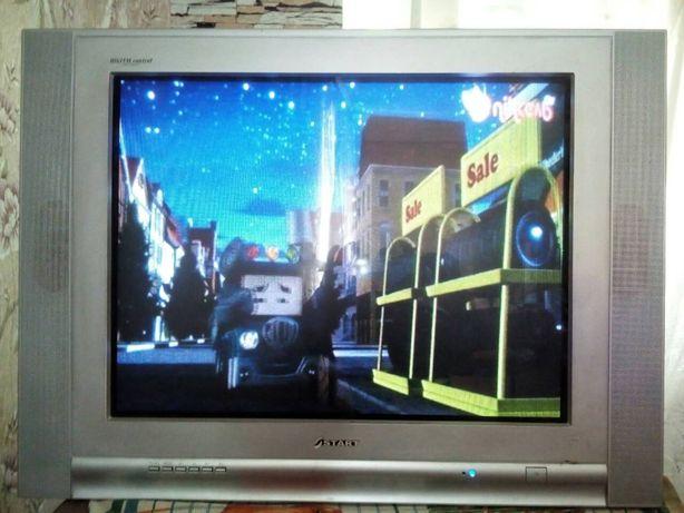 Продам рабочий цветной телевизор Старт.