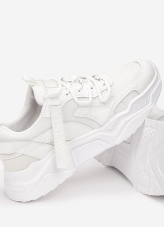 Biale sneakersy buty sportowe adidasy r41