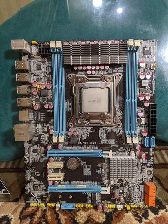 Xeon e5 2680 2.70-З.50 GHz 8 ядер 16 потоков, материнка x79 сокет 2011