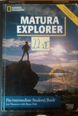 Matura Explorer Pre-intermediate Student's Book Nowa Era + płyta CD
