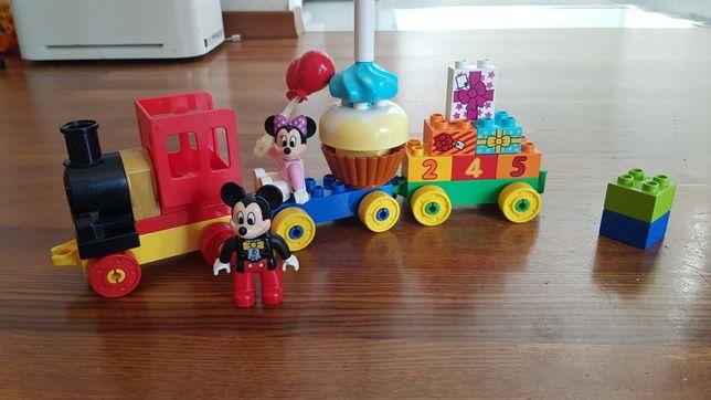 Lego duplo 10597 - pociąg mickie i mini