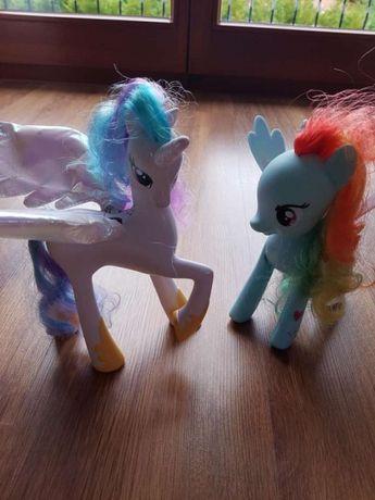 Kucyk, konik My Little Pony- Celestia i Rainbow Dash