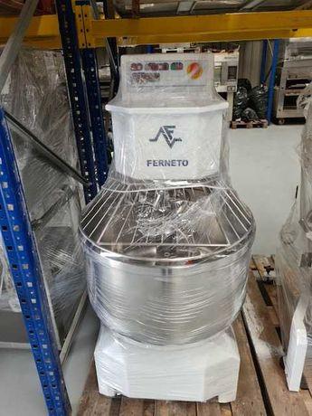 Amassadeira espiral FERNETO 50kg farinha