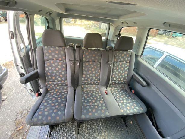 Сиденье заднее среднее Mercedes Vito 639 ряд диван миксто mixto