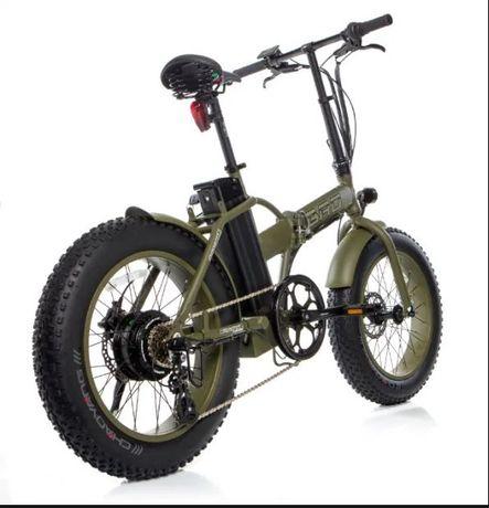 """Pierwszy na świecie składany rower elektryczny FatBike BAD 20"""""""