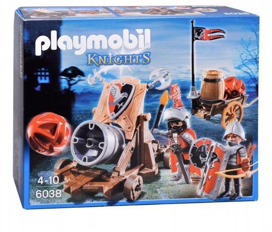 Конструктор Playmobil Боевая пушка Рыцарей Сокола (6038) плэймобил