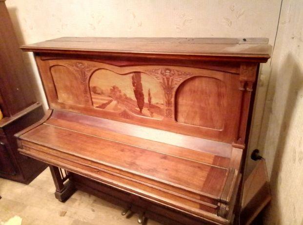 Антикварное пианино,фортепиано Ed.Seiler