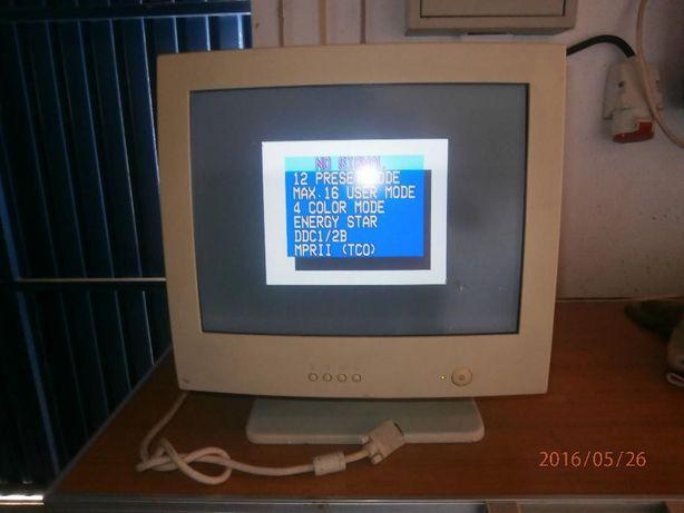 Monitor 17 polegadas antigo