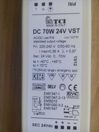 Блок питания TCI DC 70W/24V VST (LED-драйвер) ОРИГИНАЛ Італія