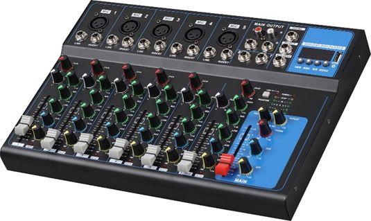 Аналоговый микшерный пульт 4all Audio F7 (5 моно + 1 стерео)