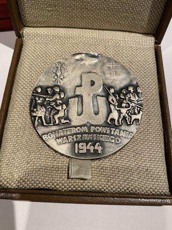 Medal Bohaterom Powstania Warszawskiego 1983. Mennica Państwowa