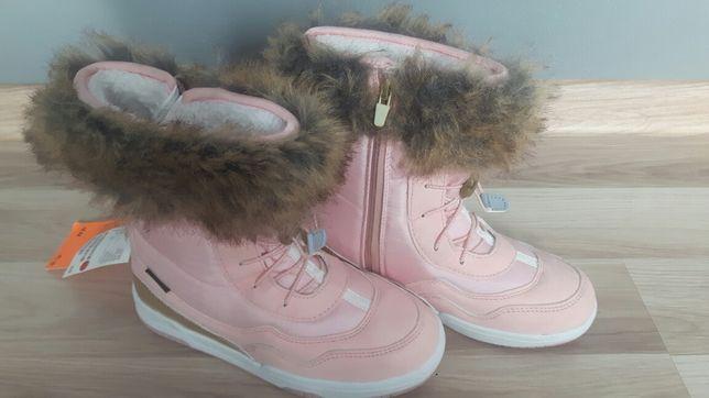 Nowe piękne zimowe kozaczki śniegowce H&M