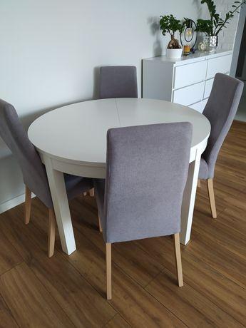 Krzesła szare do jadalni salonu