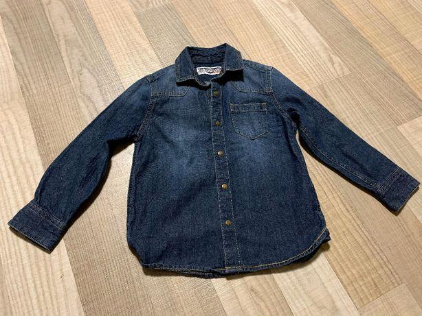 Koszula jeans r. 110 NEXT