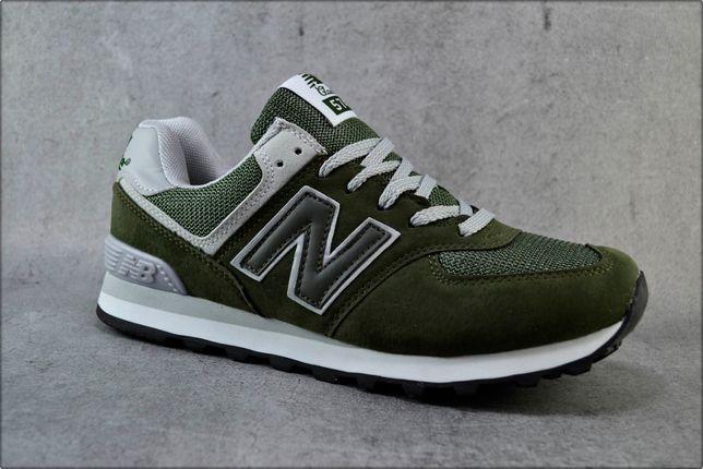 Мужские кроссовки New Balance 574 Khaki, Повседневные обувь