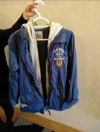 рост 156-158 Стильная удлиненная куртка для мальчика Grace
