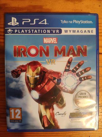 ps4 ps5 Marvel Iron Man VR płyta PL ps 4 ps 5 playStation 4 5