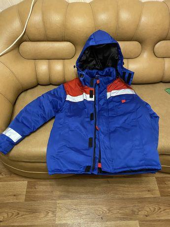Тёплый рабочий костюм(штаны+куртка)