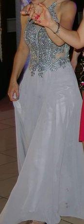 Piękna długa suknia