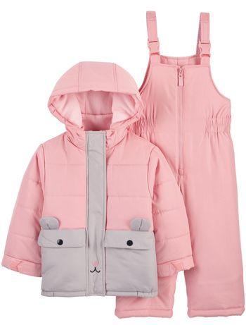 Комбинезон зимний комплект куртка и брюки Carters новый на 24м,