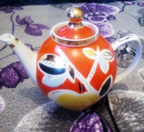 Чайник доливной Яблоко 1,7 литра СССР