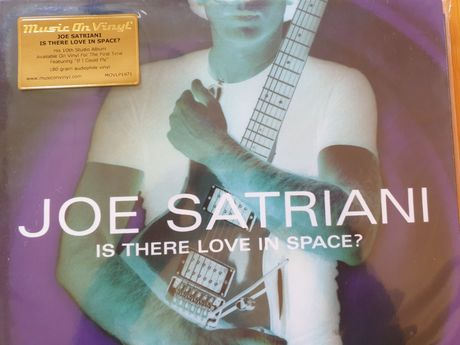 Joe Satriani- Is there love in space? Lp.