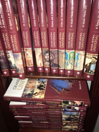 Grande História Universal -25 livros novos