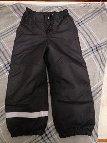 Зимние штаники H&M, 5-7лет.
