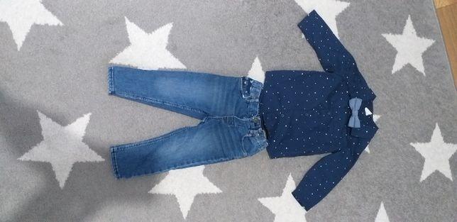 Spodnie HM chłopięce rozmiar 80