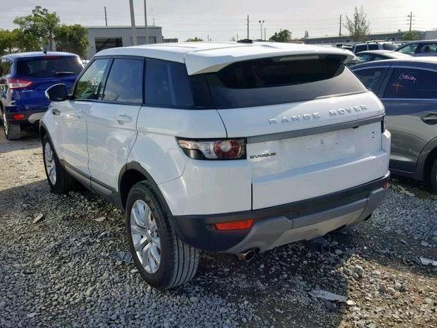 Range Rover Evoque консоль климат монитор руль управление разборка