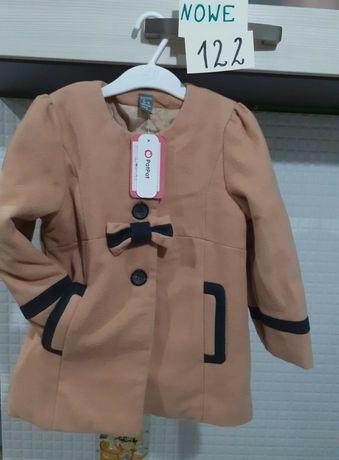 Nowy Płaszcz 120 122 plaszczyk ciepły ubranka