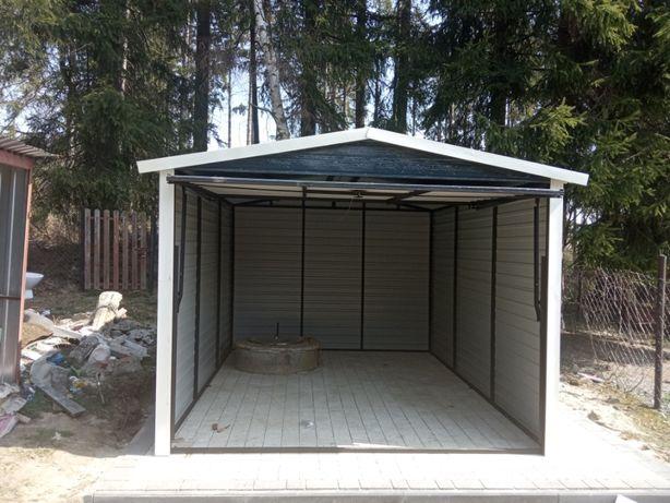 Garaż blaszany 3x5 w kolorze z palety ral do wyboru