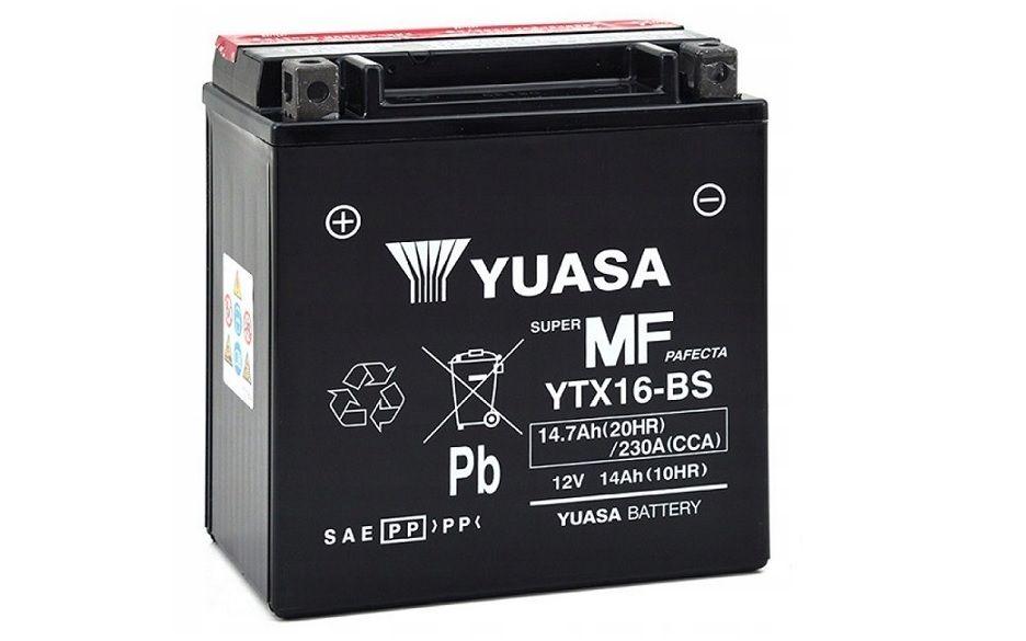 Akumulator YUASA 14Ah YTX16-BS - MF Promocja!!! Wrocław - image 1