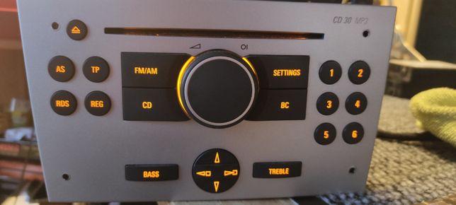 Radio cd30mp3 opel Corsa C, Combo, Tigra, Meriva A, Vivaro, WYLOGOWANE