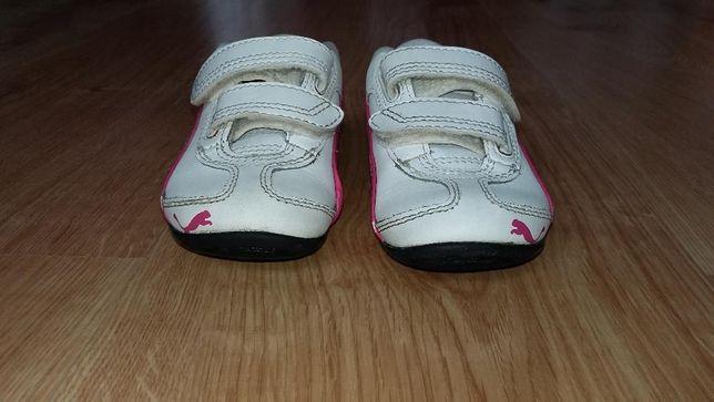 Buty sportowe dla dziewczynki, chłopca rozm. 20 Puma skórzane