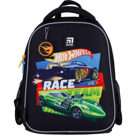 Рюкзак школьный каркасный Kite Education Hot Wheels HW21-555S