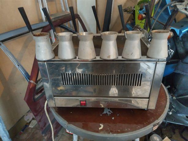 Кофемашина, кофеварка для приготовления кофе на песке