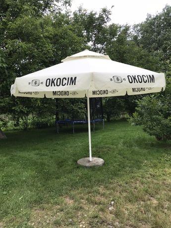 Profesjonalny parasol ogrodowy przemysłowy 4m nowe poszycie