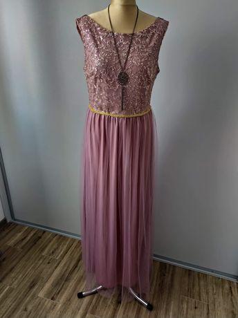 Sukienka wieczorowa maxi długa r L/XL