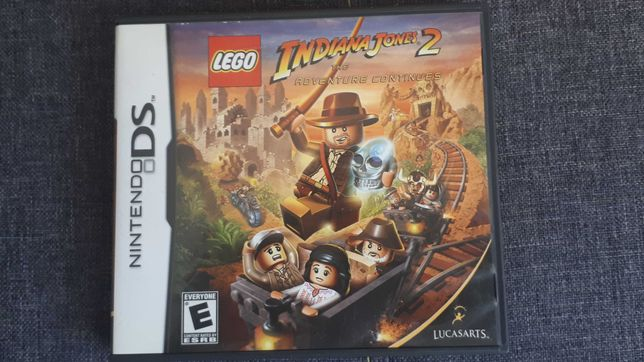 Lego Indiana Jones 2 Nintendo DS