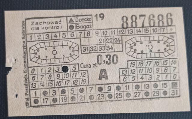 Bilety Woj. Przed. Komunikacyjnego w Katowicach