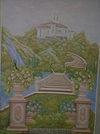 Барельеф та роспись стен