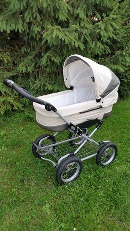 Wózek dziecięcy emmaljunga wraz z akcesoriami