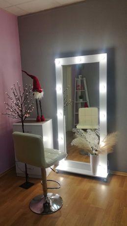 Напольное визажное зеркало с подсветкой. Новое. Акция.