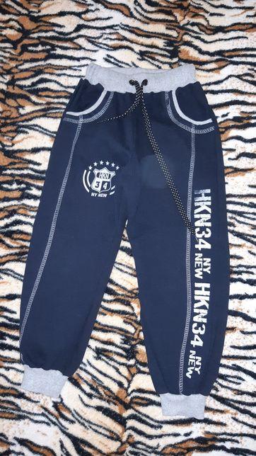 Штаны спортивные с начесом, утепленные штаны