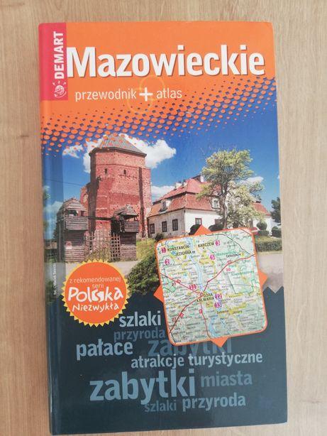 Przewodnik + Atlas Mazowieckie Demart