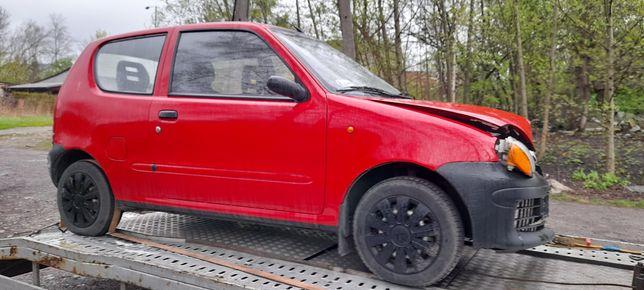 Części Fiat Seicento kod lakieru 112/A!Drzwi Klapa Blotnik fotel szyba