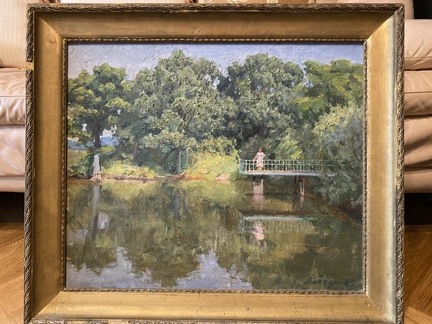 Картина художник Лобода И.И  60х50