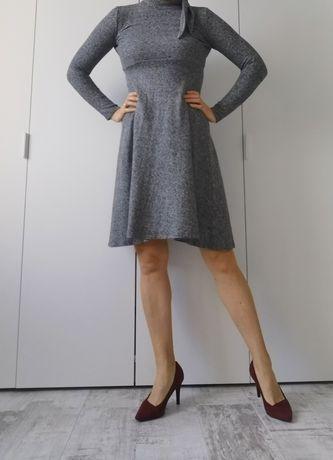 Sukienka Zara XS popiel
