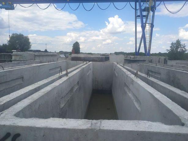 Kanał samochodowy 6m kanały samochodowe ala szambo szamba betonowe